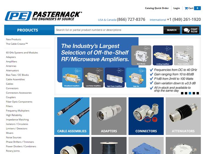 Pasternack Enterprises Case Study