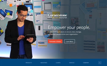 integration with cornerstone on demand