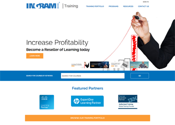 ingram micro training new website