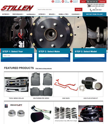stillen new website